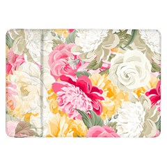 Colorful Floral Collage Samsung Galaxy Tab 8 9  P7300 Flip Case by Dushan