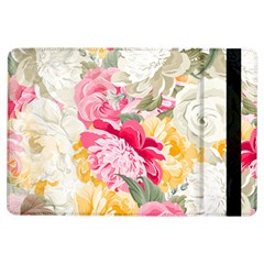 Colorful Floral Collage Ipad Air Flip by Dushan
