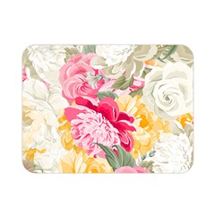 Colorful Floral Collage Double Sided Flano Blanket (mini)