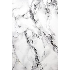 White Marble Stone Print 5 5  X 8 5  Notebooks by Dushan