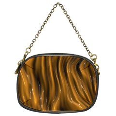 Shiny Silk Golden Chain Purses (one Side)
