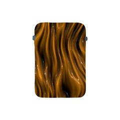 Shiny Silk Golden Apple Ipad Mini Protective Soft Cases by MoreColorsinLife