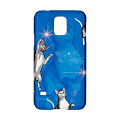 Funny, Cute Playing Cats With Stras Samsung Galaxy S5 Hardshell Case  by FantasyWorld7