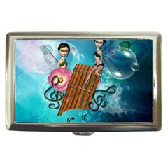 Music, Pan Flute With Fairy Cigarette Money Cases by FantasyWorld7