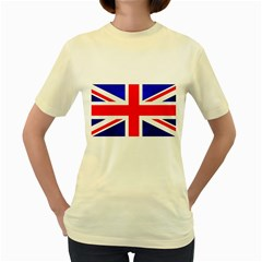 Brit1 Women s Yellow T Shirt