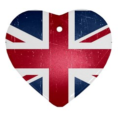 Brit3 Heart Ornament (2 Sides)