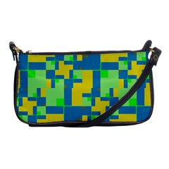 Shapes In Shapes Shoulder Clutch Bag by LalyLauraFLM