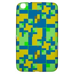 Shapes In Shapes Samsung Galaxy Tab 3 (8 ) T3100 Hardshell Case  by LalyLauraFLM