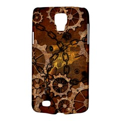 Steampunk In Rusty Metal Galaxy S4 Active by FantasyWorld7