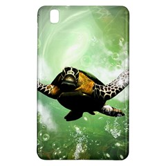 Beautiful Seaturtle With Bubbles Samsung Galaxy Tab Pro 8.4 Hardshell Case