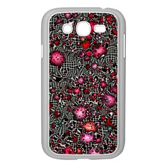 Sci Fi Fantasy Cosmos Red  Samsung Galaxy Grand Duos I9082 Case (white) by ImpressiveMoments