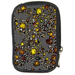 Sci Fi Fantasy Cosmos Yellow Compact Camera Cases by ImpressiveMoments
