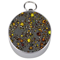 Sci Fi Fantasy Cosmos Yellow Silver Compasses by ImpressiveMoments