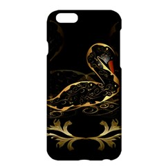 Wonderful Swan In Gold And Black With Floral Elements Apple Iphone 6 Plus/6s Plus Hardshell Case by FantasyWorld7