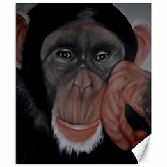 The Thinker Canvas 8  X 10  by timelessartoncanvas