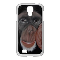The Thinker Samsung Galaxy S4 I9500/ I9505 Case (white) by timelessartoncanvas