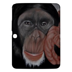 The Thinker Samsung Galaxy Tab 3 (10 1 ) P5200 Hardshell Case  by timelessartoncanvas