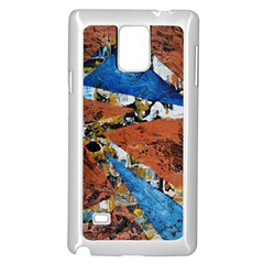 Triangles Samsung Galaxy Note 4 Case (white) by timelessartoncanvas