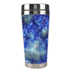 Alien Dna Blue Stainless Steel Travel Tumblers by ImpressiveMoments