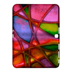 Imposant Abstract Red Samsung Galaxy Tab 4 (10 1 ) Hardshell Case  by ImpressiveMoments