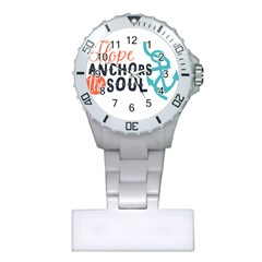 Hope Anchors The Soul Nautical Quote Nurses Watches