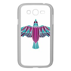 Stained Glass Bird Illustration  Samsung Galaxy Grand Duos I9082 Case (white) by carocollins