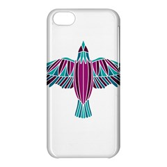 Stained Glass Bird Illustration  Apple Iphone 5c Hardshell Case by carocollins