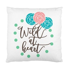 Wild At Heart Flowers Standard Cushion Cases (two Sides)  by CraftyLittleNodes
