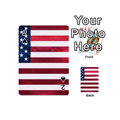 Usa2 Playing Cards 54 (mini)  by ILoveAmerica