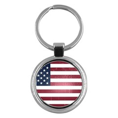 Usa3 Key Chains (round)  by ILoveAmerica