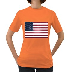 Usa3 Women s Dark T Shirt by ILoveAmerica