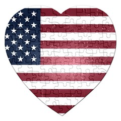 Usa3 Jigsaw Puzzle (heart) by ILoveAmerica