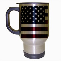 Usa3 Travel Mug (silver Gray) by ILoveAmerica