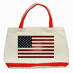 Usa3 Classic Tote Bag (red)  by ILoveAmerica