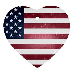 Usa3 Heart Ornament (2 Sides) by ILoveAmerica
