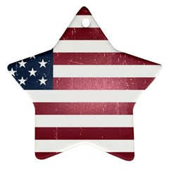 Usa3 Star Ornament (two Sides)  by ILoveAmerica