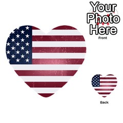 Usa3 Multi Purpose Cards (heart)  by ILoveAmerica