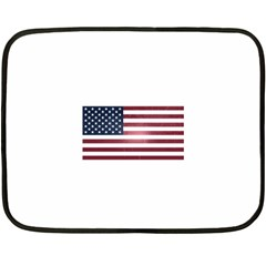 Usa3 Double Sided Fleece Blanket (mini)  by ILoveAmerica