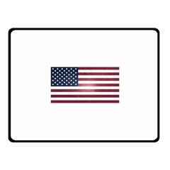 Usa3 Fleece Blanket (small) by ILoveAmerica