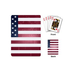 Usa3 Playing Cards (mini)  by ILoveAmerica