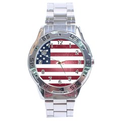 Usa3 Stainless Steel Men s Watch by ILoveAmerica