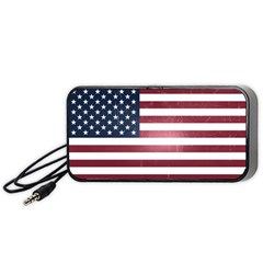 Usa3 Portable Speaker (black)  by ILoveAmerica