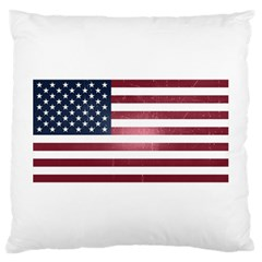 Usa3 Large Cushion Cases (one Side)  by ILoveAmerica