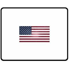 Usa3 Double Sided Fleece Blanket (medium)  by ILoveAmerica