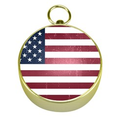 Usa3 Gold Compasses by ILoveAmerica