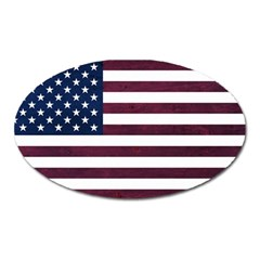 Usa4 Oval Magnet