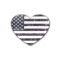 Usa9 Heart Coaster (4 Pack)  by ILoveAmerica