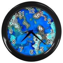 Cocos Reef Sinkholes Wall Clocks (black) by CocosBlue