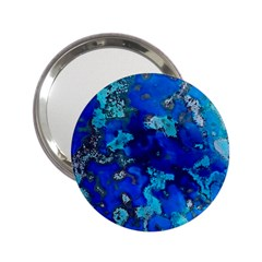 Cocos Blue Lagoon 2 25  Handbag Mirrors by CocosBlue