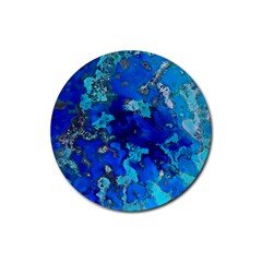 Cocos Blue Lagoon Rubber Coaster (round)  by CocosBlue
